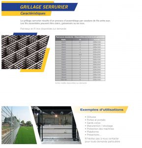 Catalogue - Metallerie (1)